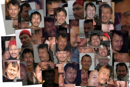 Collage med Georg