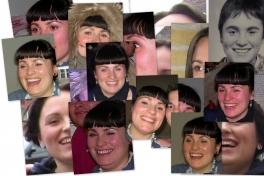Collage med Ivalo Bech Nielsen