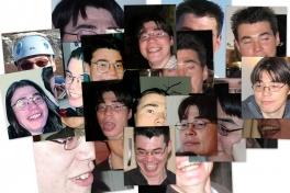 Collage med John