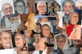 Collage med Karen Labansen