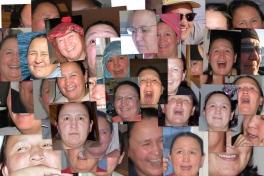 Collage med Maren