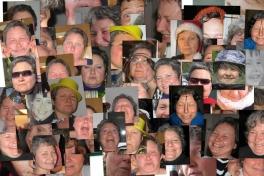 Collage med Mette