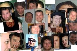 Collage med Svend