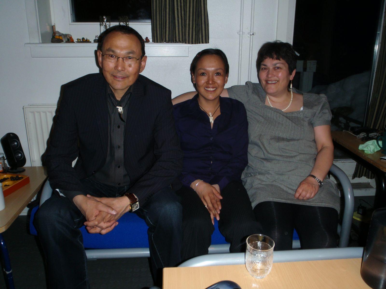 Hele familien i Tasiilaq