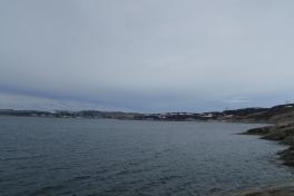 Udsigt - Qinngorput og Nuuk
