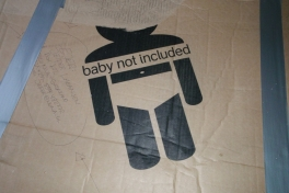 Baby not included papkasse