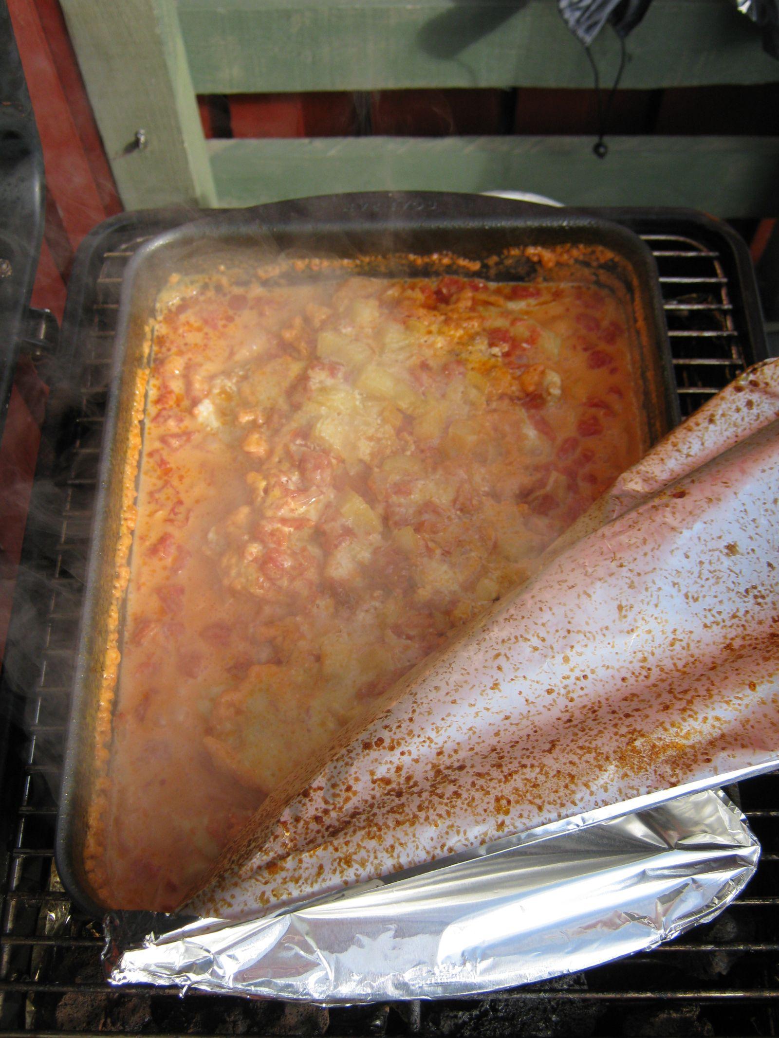 Fisk i ovnen
