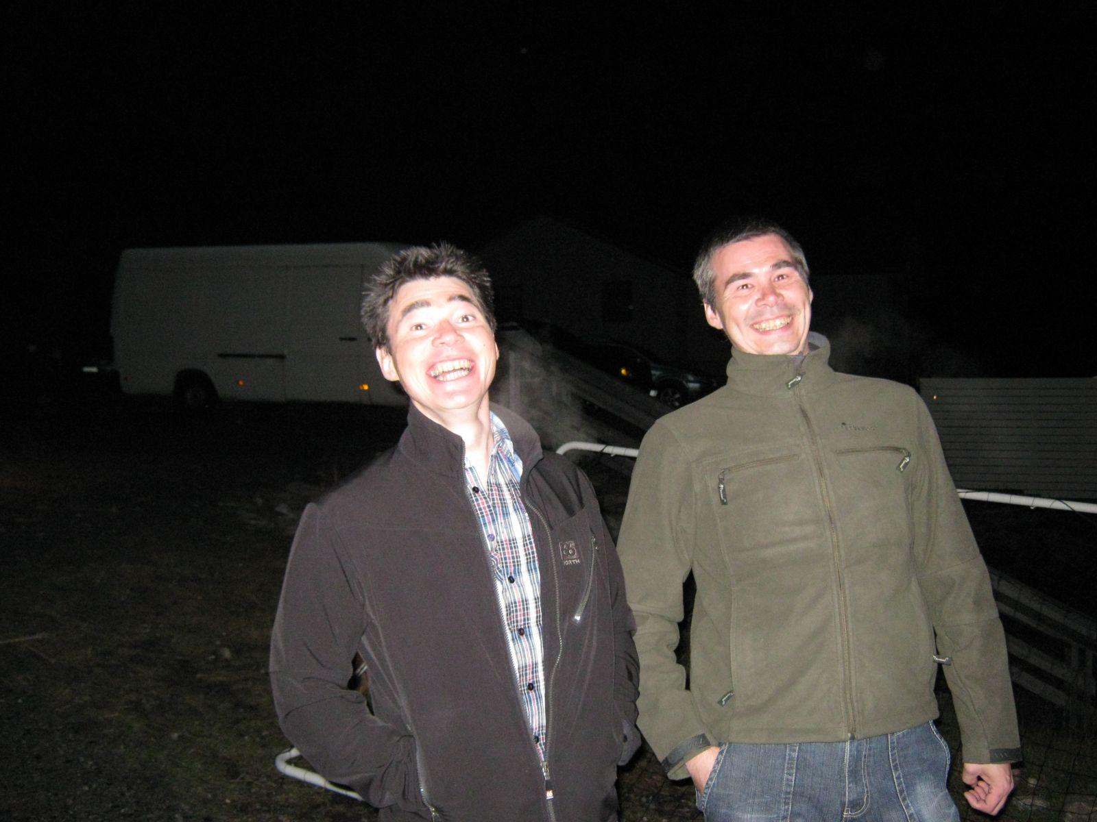 2009-09-12-2315_John Telling; Torben Telling