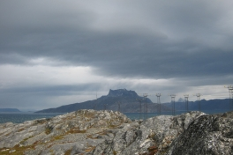 Fra gåture i Nuuk