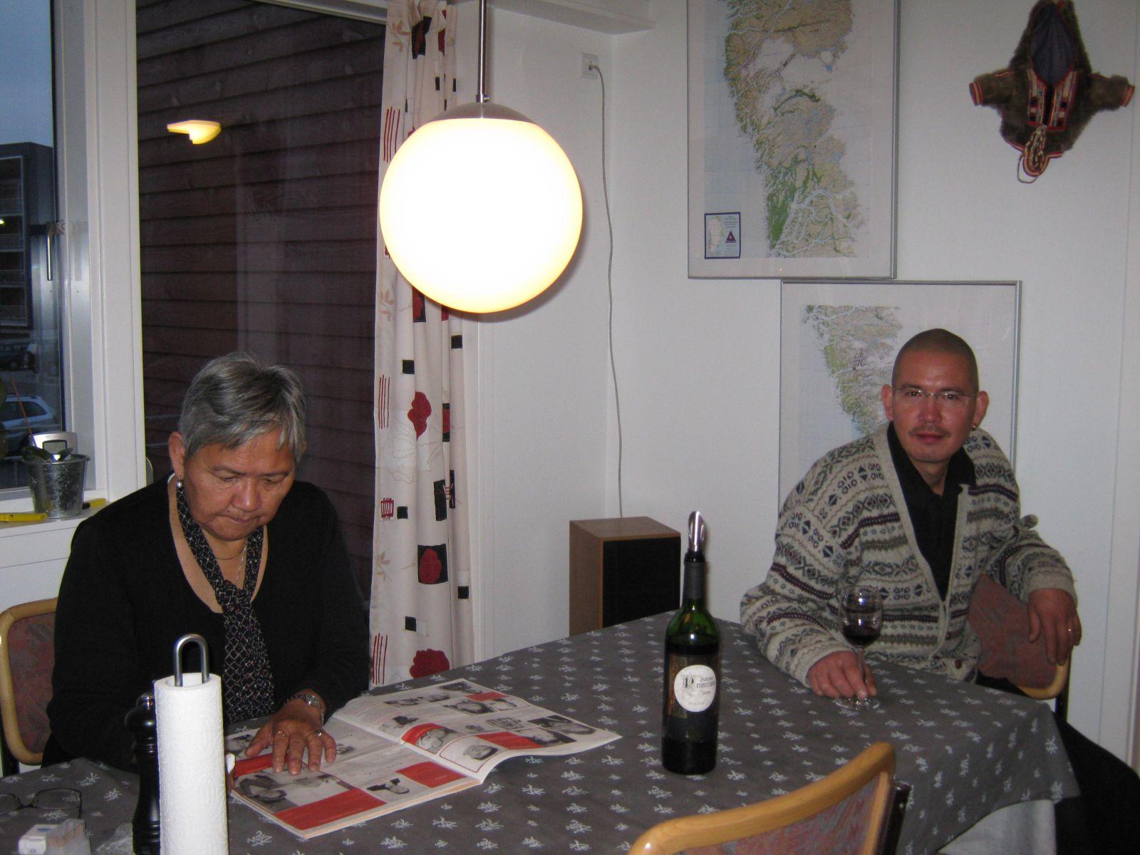 2009-10-10-1836_Kornelia Sandgreen; Palle Sandgreen