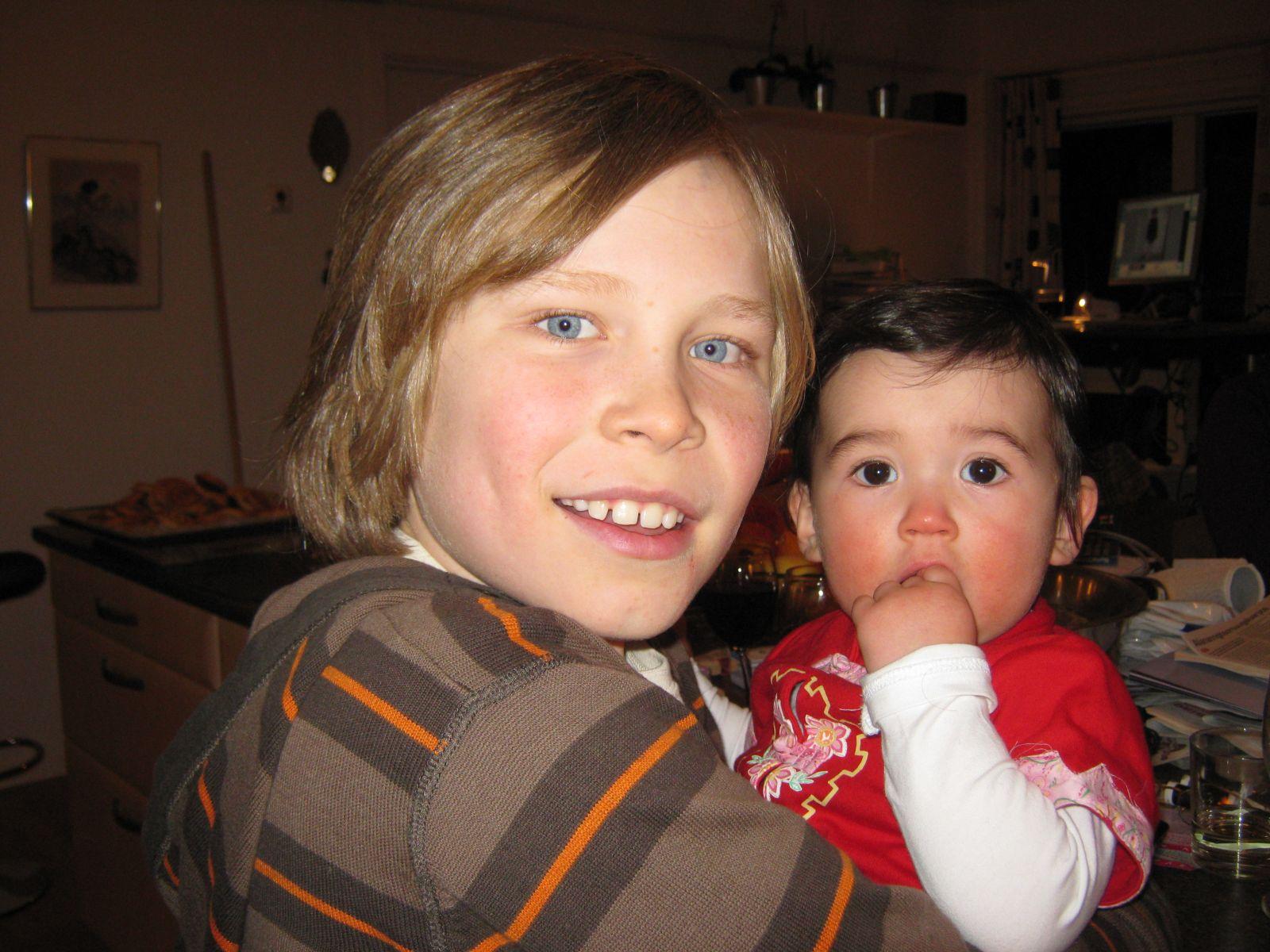 2009-10-31-1830_Qupanuk Eugenius Labansen; Rumle Labansen