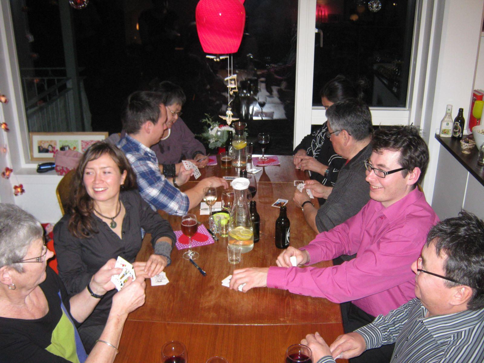 2009-12-26-1856_Aili Lage Labansen; Jesper Eugenius Labansen; Jørgen Labansen; Maritha Eugenius Labansen; Worms