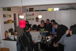 2009-12-26-1511_Hans Labansen; Jørgen Labansen; Niels Erik _Aqqaluk_ Kristiansen; Ruth Labansen
