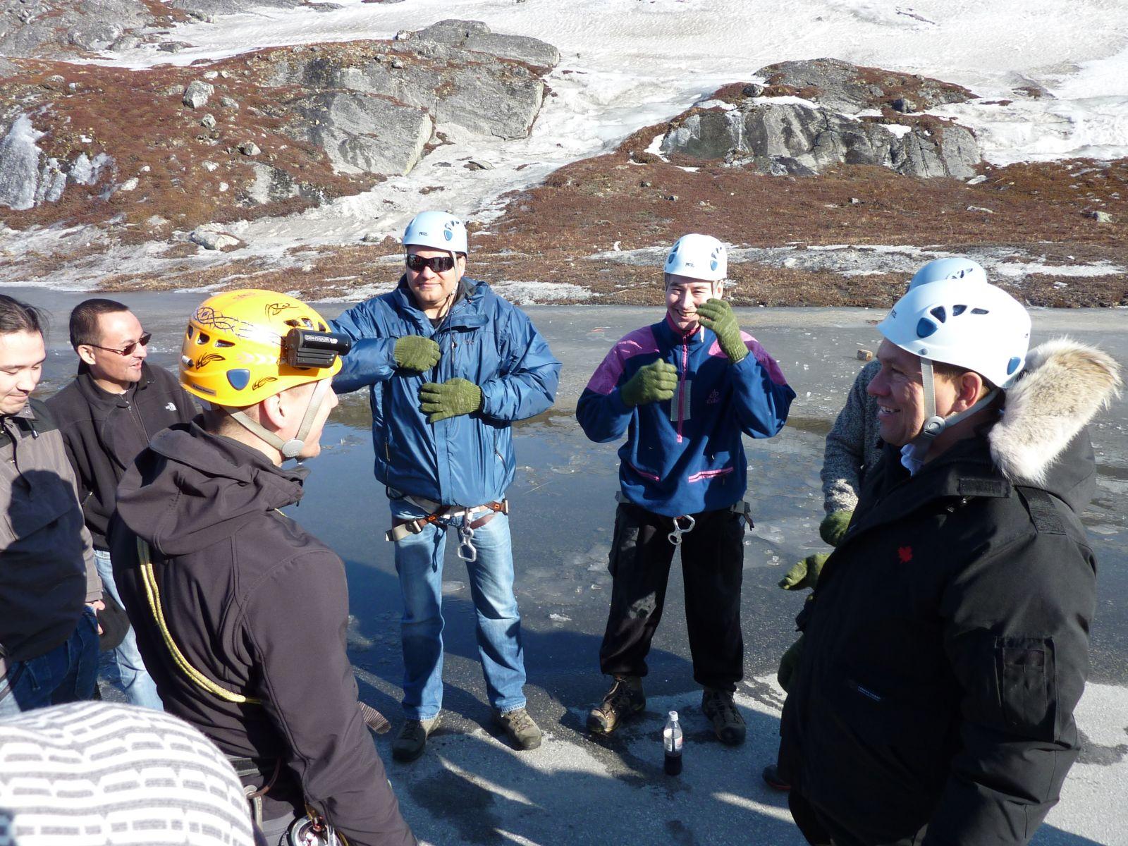 2010-04-10-1614_-_Hans-Jakob _Aqqaluk_ Platou; Jesper Eugenius Labansen; Svend Sværd