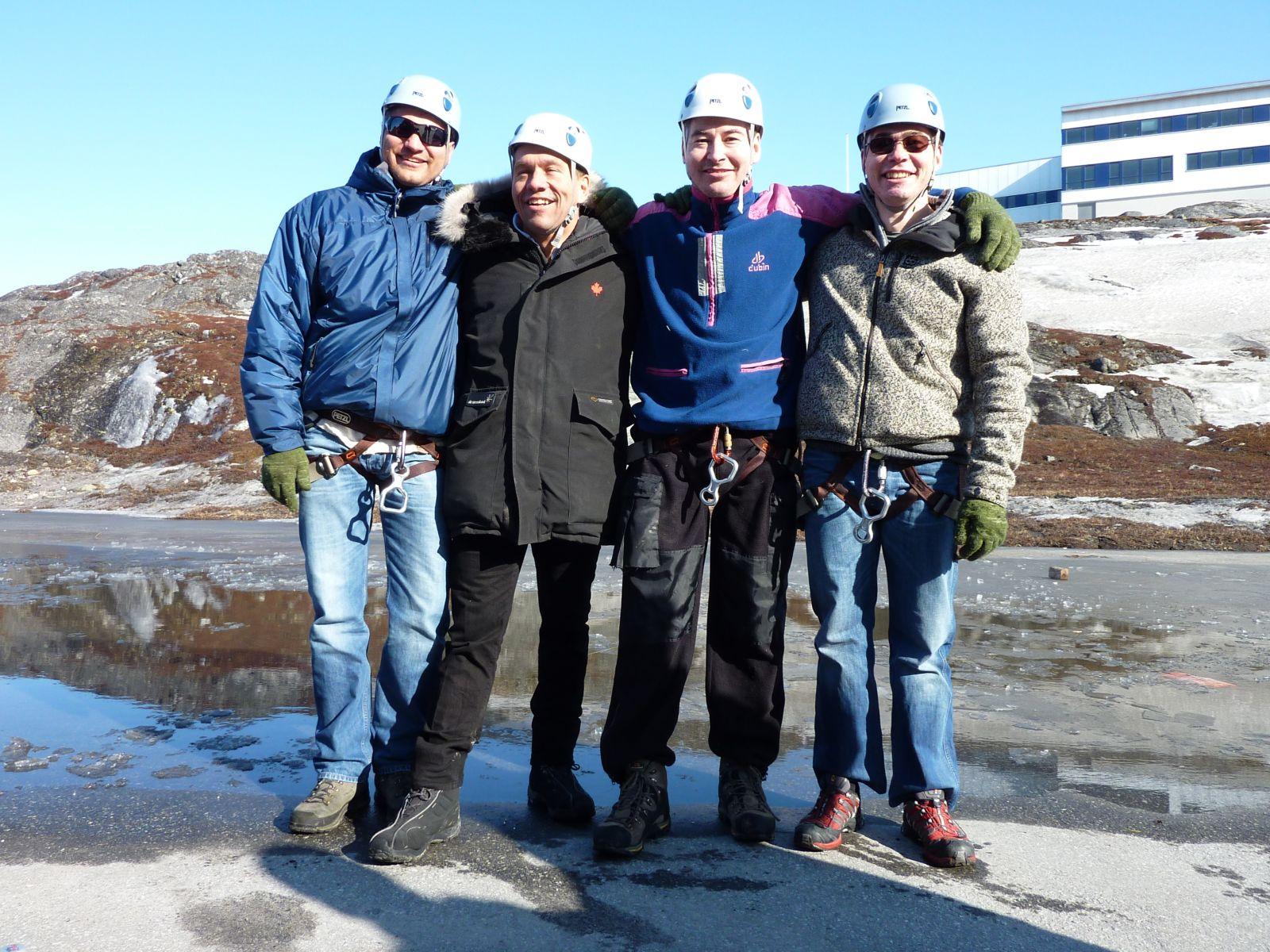 2010-04-10-1614_-_Henrik Steinbacher; Jesper Eugenius Labansen; John Telling; Svend Sværd