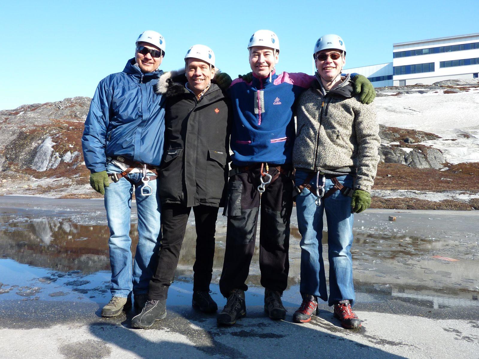 2010-04-10-1615_-_Henrik Steinbacher; Jesper Eugenius Labansen; John Telling; Svend Sværd