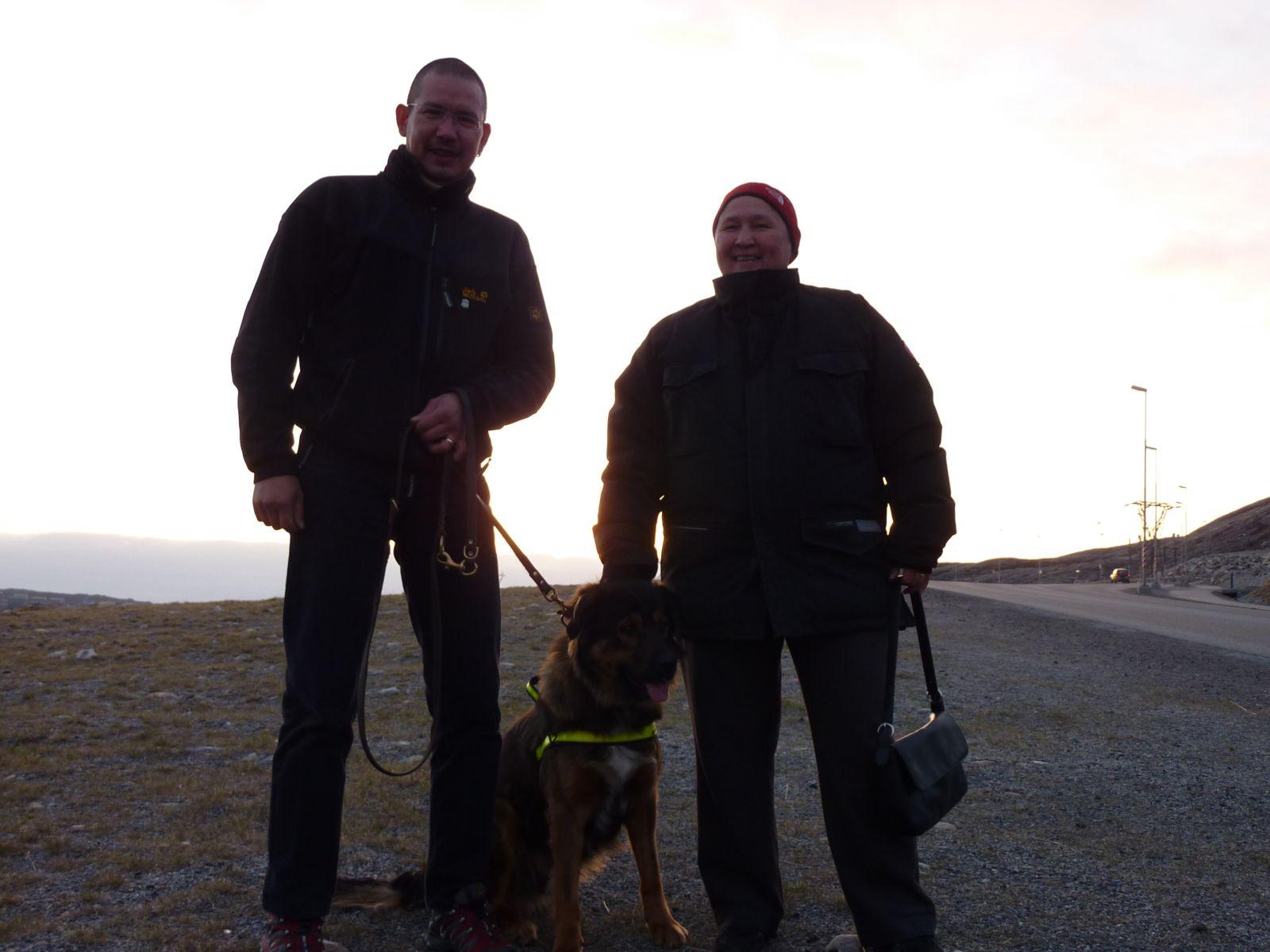 Palle, Maren og Djanco
