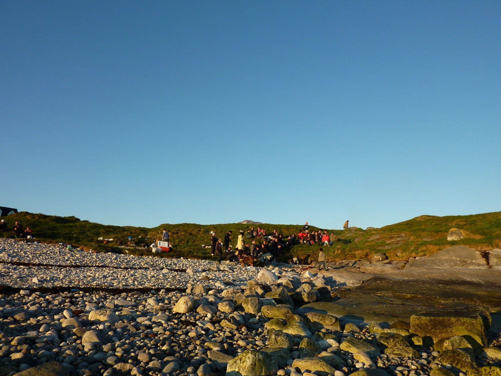 Sankt Hansaften ved Hern Hut-stranden