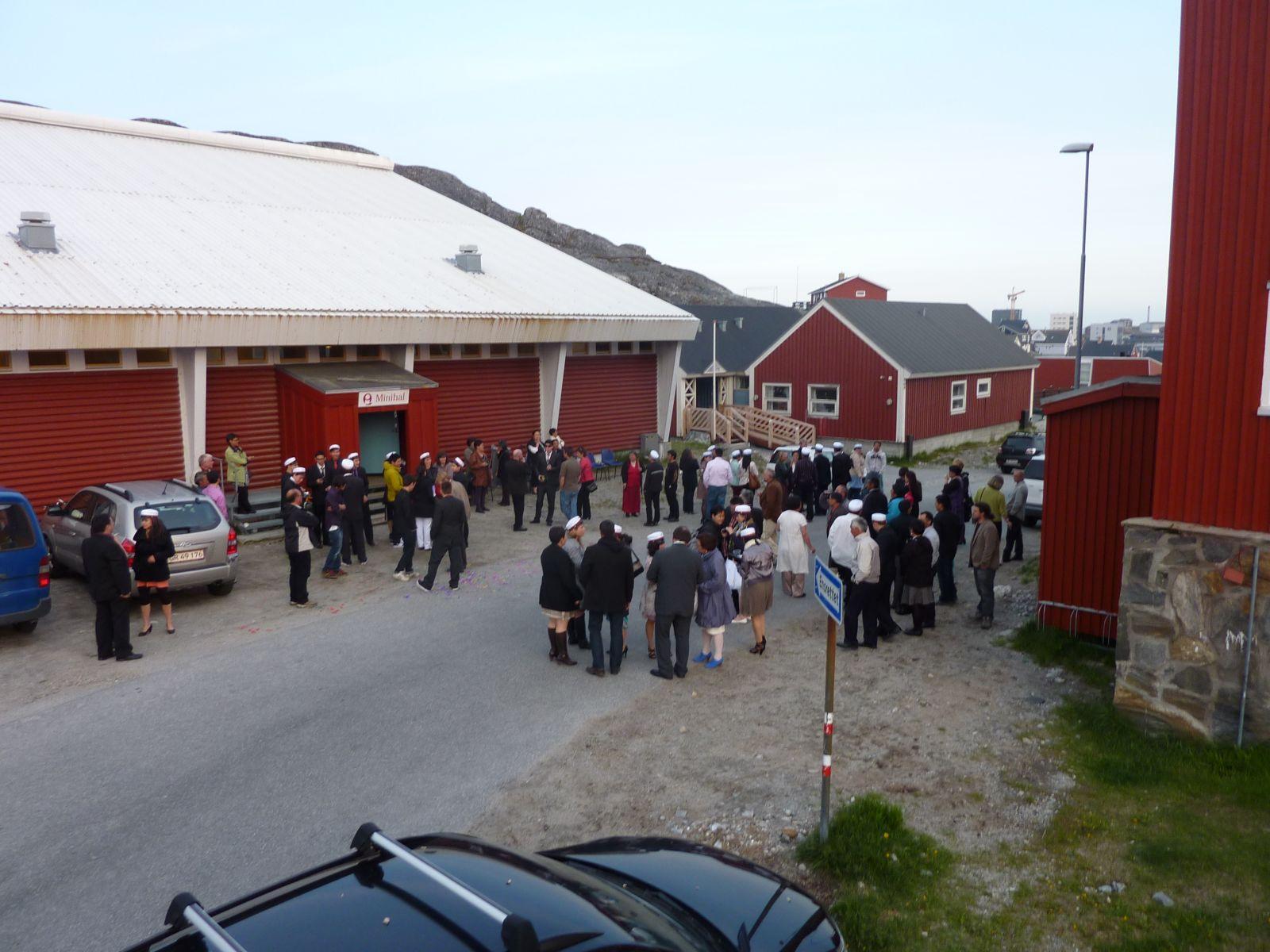 Dimissionsfest i Nuuk