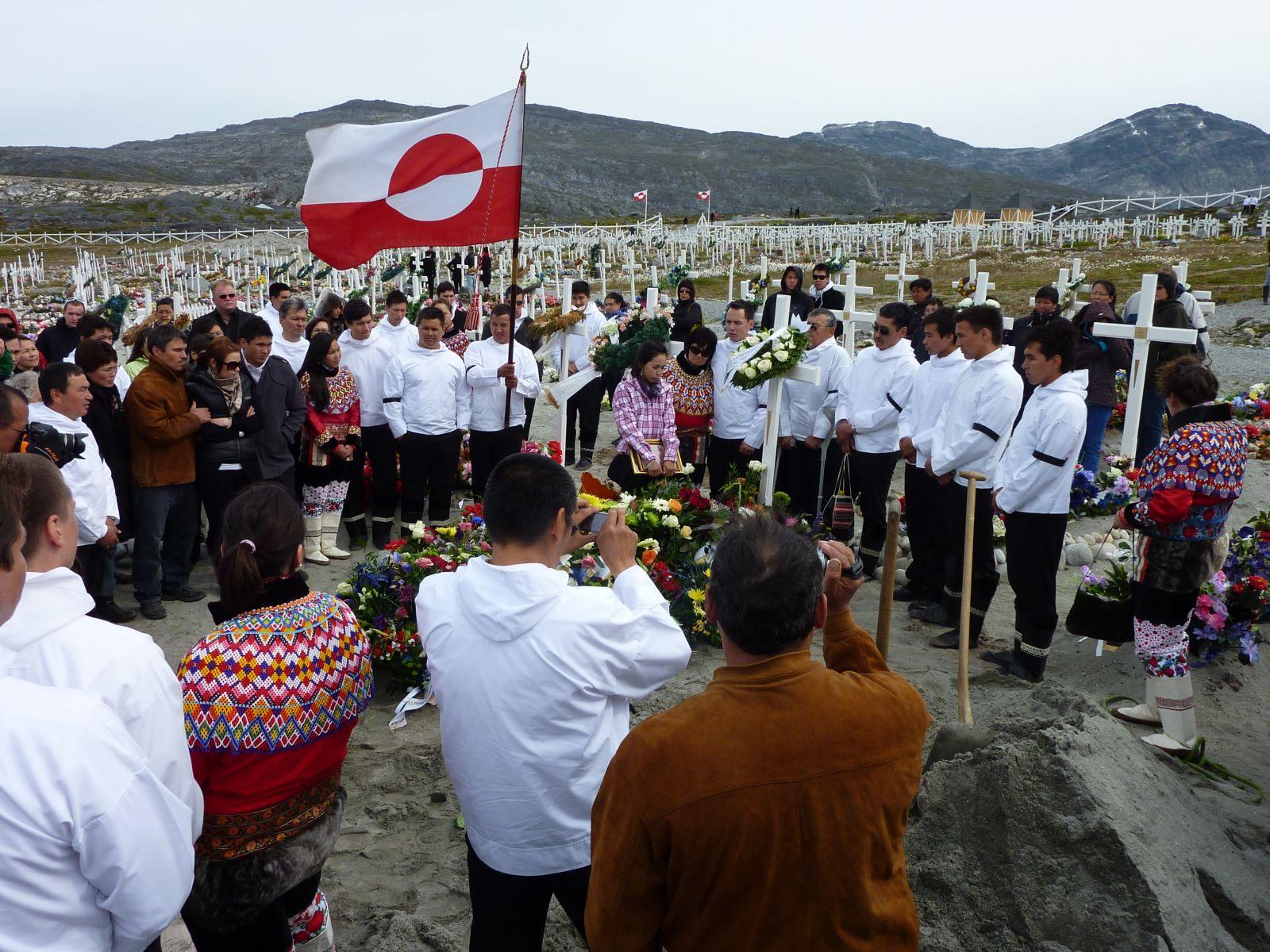 Rasmus's begravelse