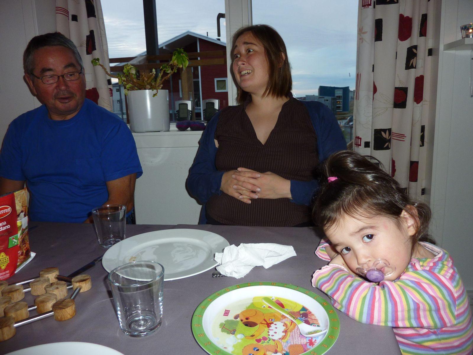2010-10-07-1819_-_Jørgen Labansen; Maritha Eugenius Labansen; Qupanuk Eugenius Labansen