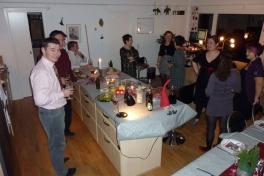 2010-12-18-1701_-_Jesper Eugenius Labansen; Julefrokost; Maritha Eugenius Labansen; Nuka Klausen Telling