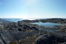 Toppen af Lillemalene og nordlandet