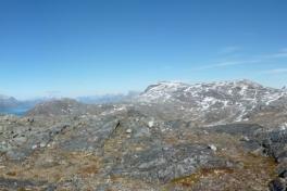 Toppen og bagsiden af Lillemalene