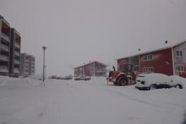 Sne i Pupik kvarteret