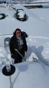 Imzadi tømmes for sne