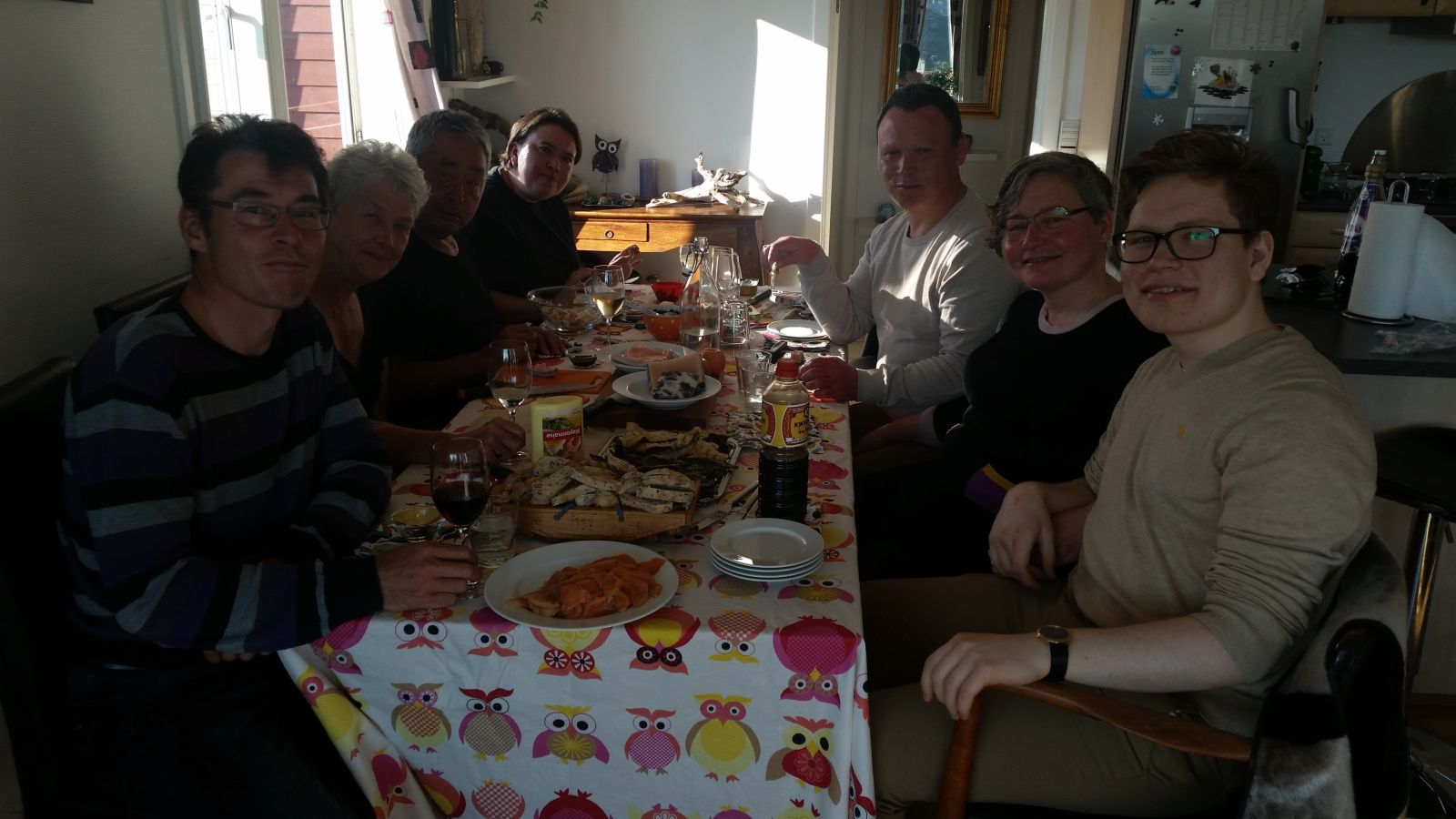 2017-08-13-1847_-_Anna Hessler Labansen; Jesper Labansen; Jørgen Labansen; Mette Labansen; Rumle Labansen; Ruth Laban