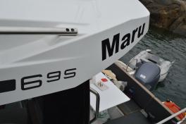 2018-07-28-1609_-_Gummibåd; Maru; Yamaha 175