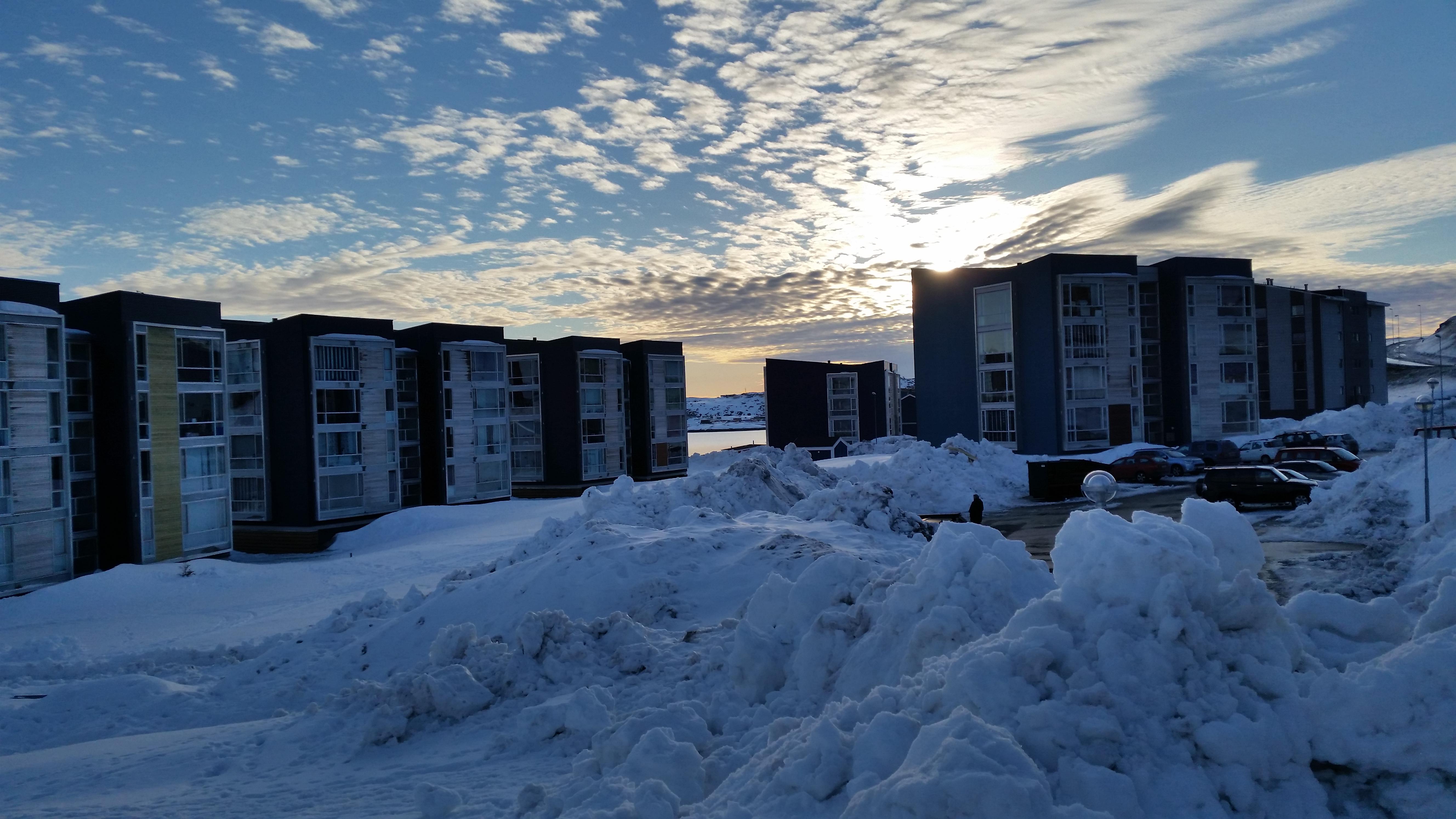 Sne og sol