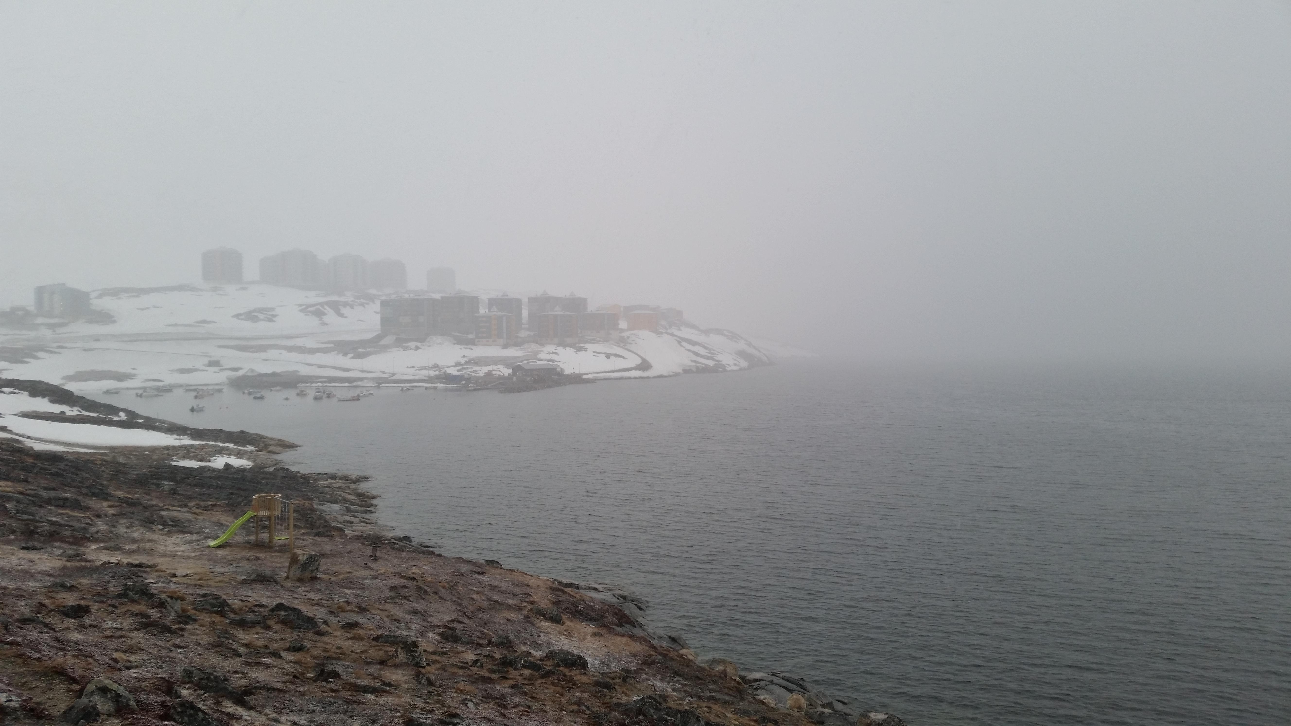 Snestorm i juni