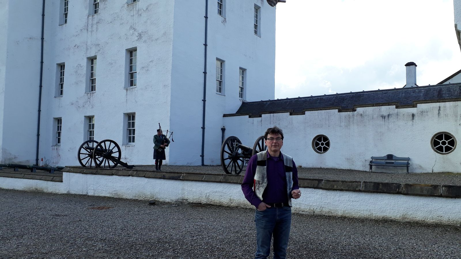 Udflugt til Blair Castle