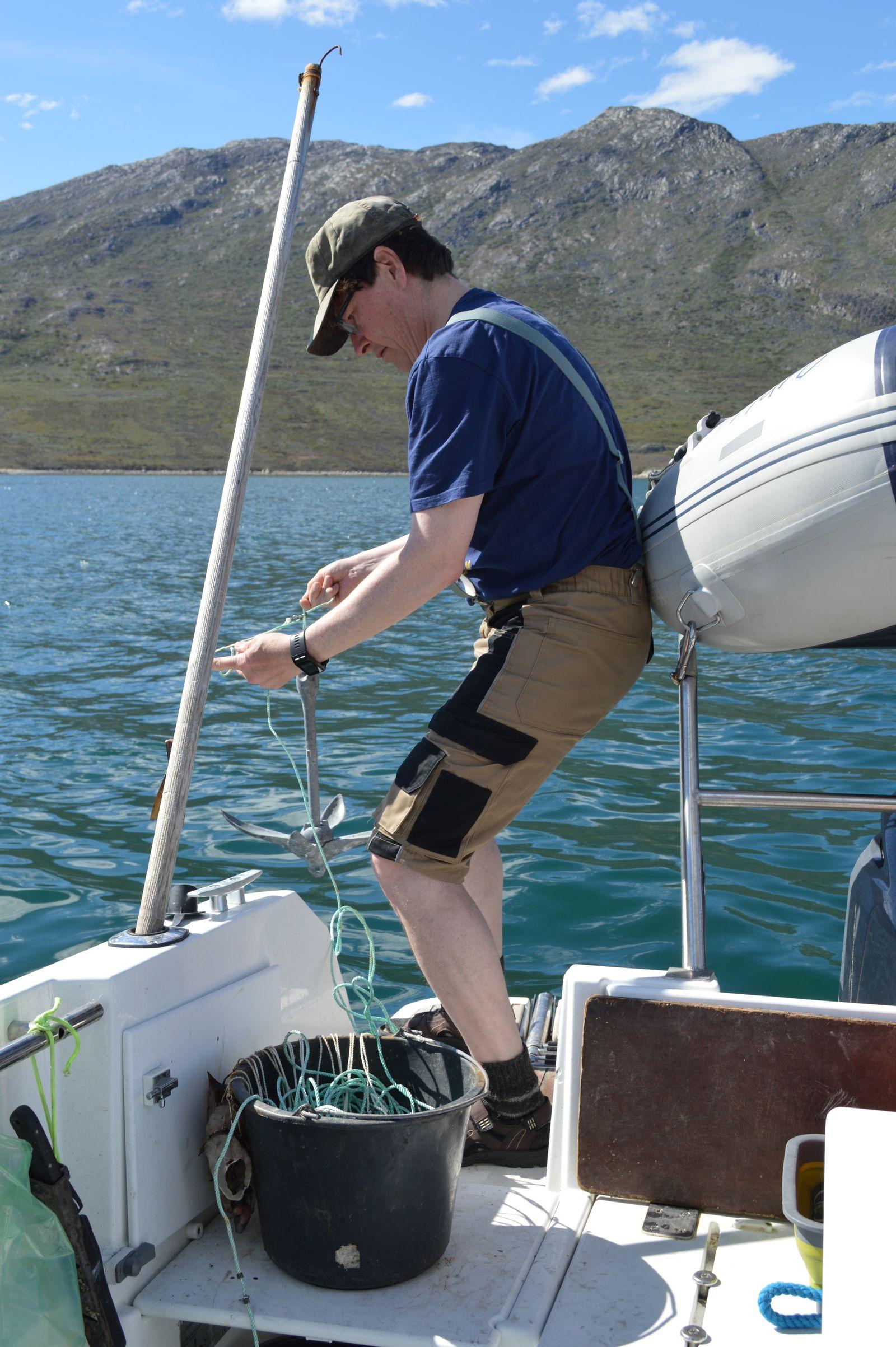 Sejltur til Eqaluit Ilorliit -Snellen gøres klar og sættes