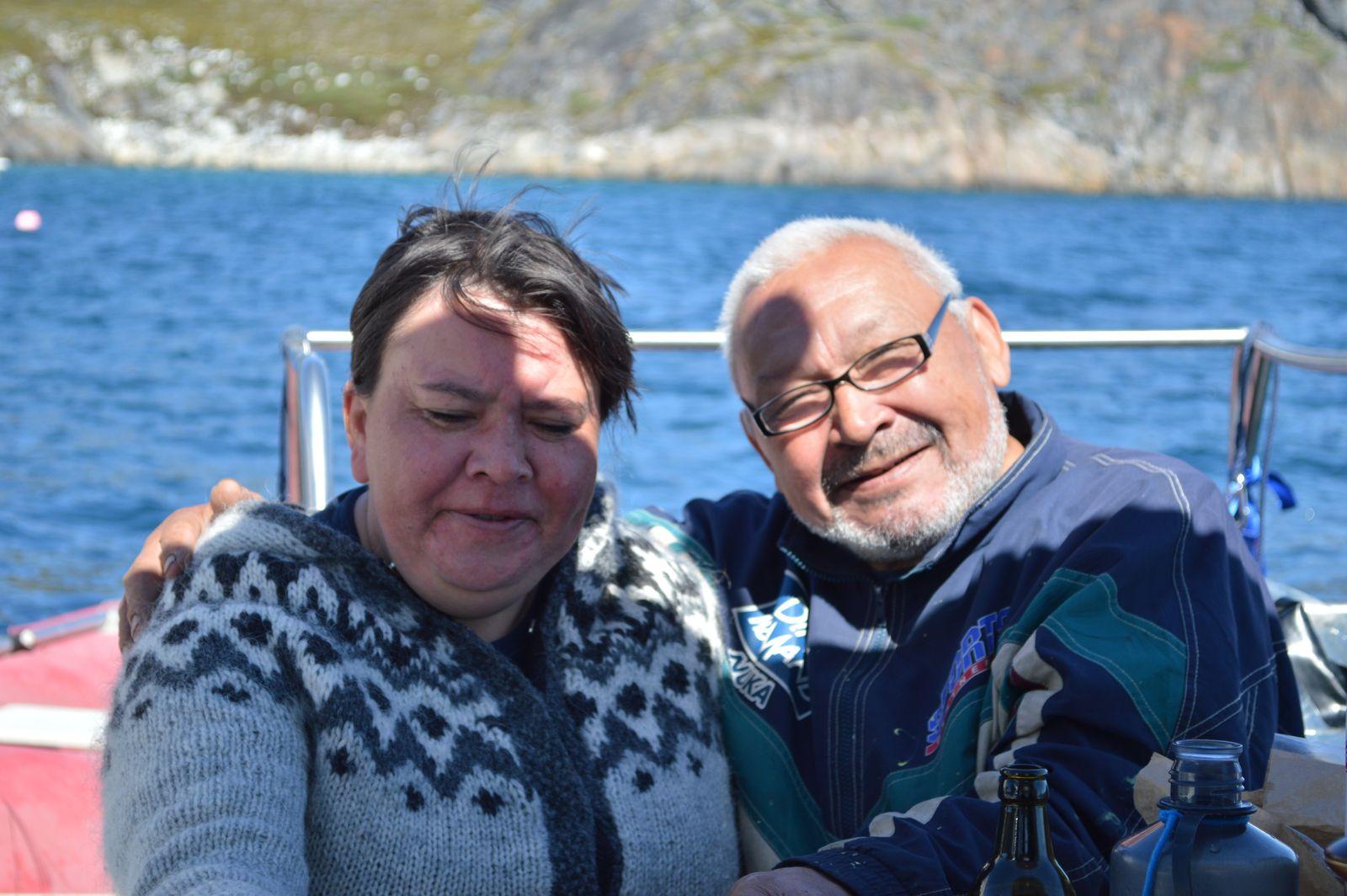 Besøg hos Ove-Karl og Agnes - Agnes fødselsdag og Nationaldag.
