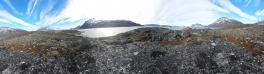 Miniferie inde i Nuuk fjorden. Pause i Qoornoq på vej mod Ujarassuit