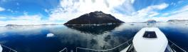 Miniferie inde i Nuuk fjorden. Vi måtte opgive at komme til Ujarassuit pga. is.